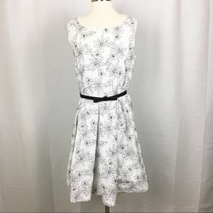 Danny & Nicole Floral Stitched Dress